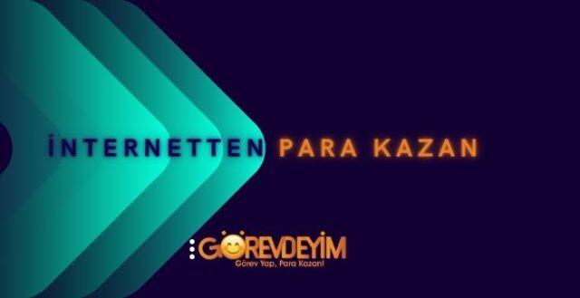 Internetten Para Kazan